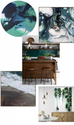 timber green blue