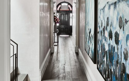 alisa and lysandra design duo albert park hallway