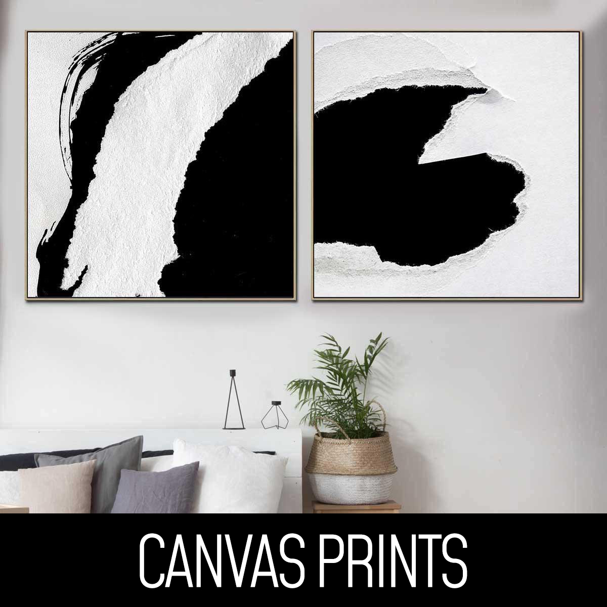 Perfect Pair Canvas Prints