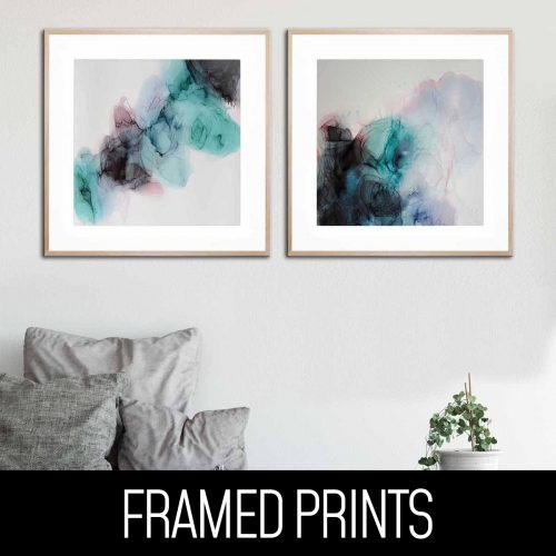 Perfect Pair Framed Prints