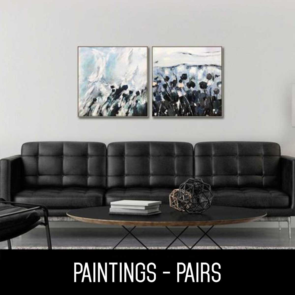 Perfect Pair Hand Paintings