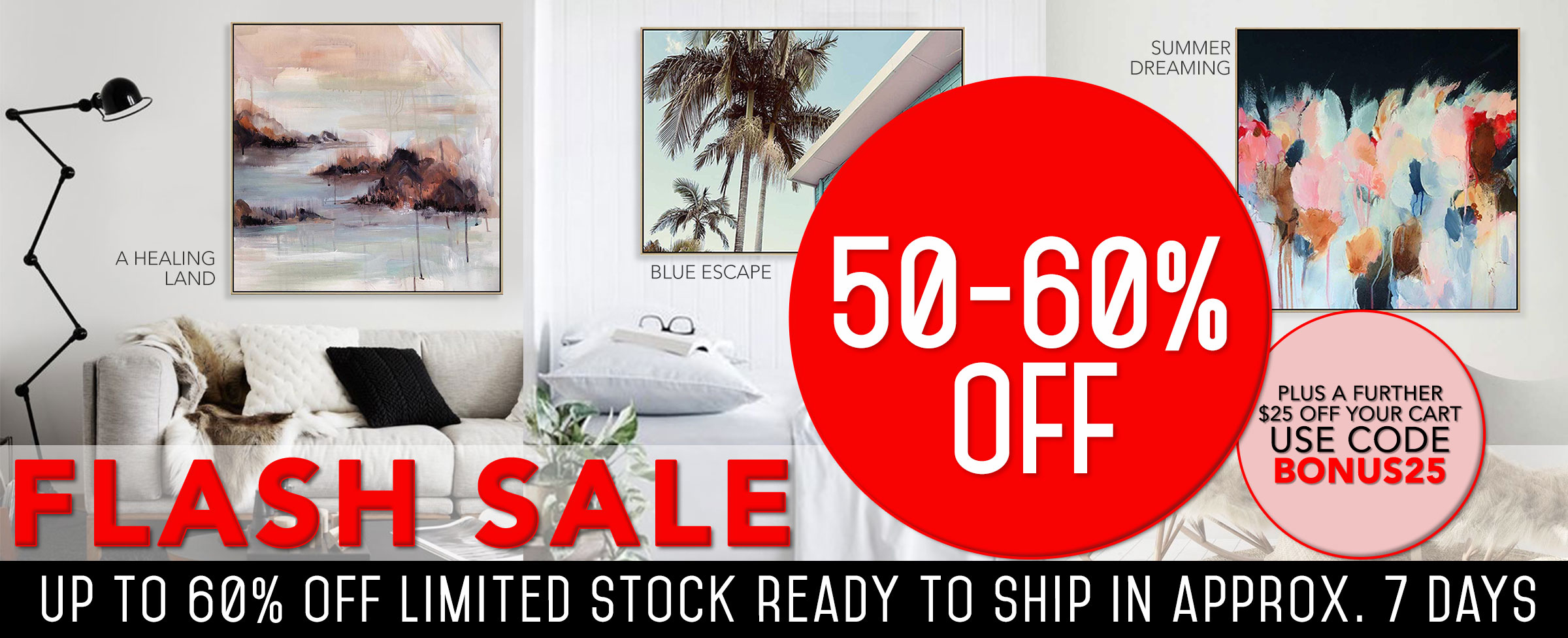 MAIN ART ON PROMOTION - CLEARANCE
