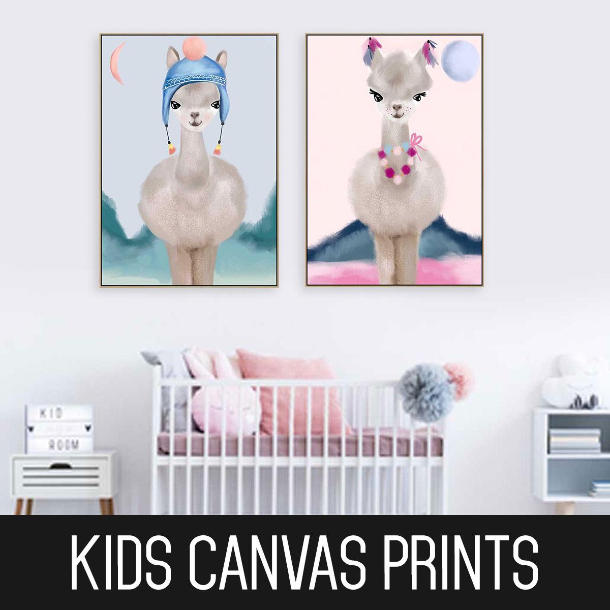 Childrens Canvas Prints